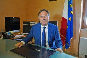 Il sindaco facente funzioni Luca Benni