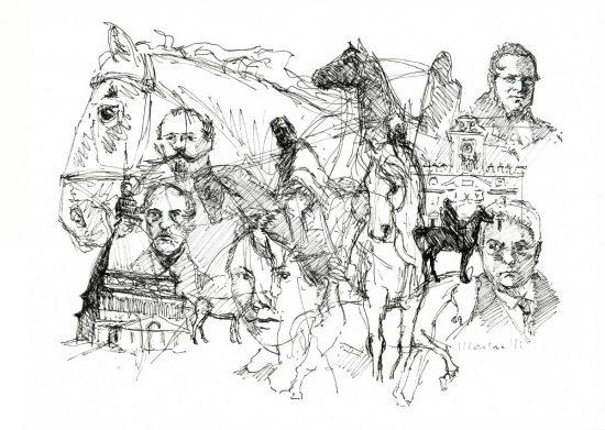 """""""A cavallo per l'Italia"""", l'opera di Giuseppe Marinelli"""
