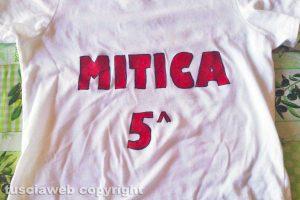 """La maglia della """"Mitica quinta"""""""
