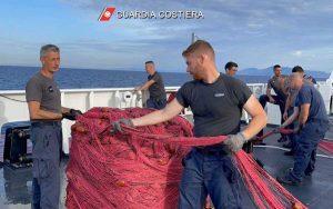 Guardia costiera - Operazione No driftnets