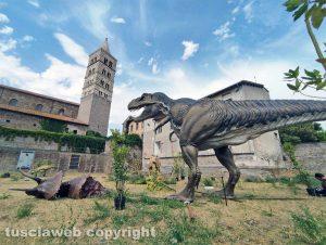 Viterbo - Il T-Rex in mostra a Dinosauri in carne e ossa