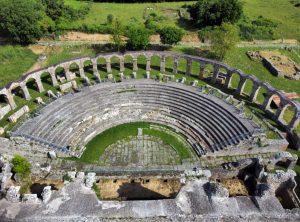 Viterbo - Il teatro romano di Ferento